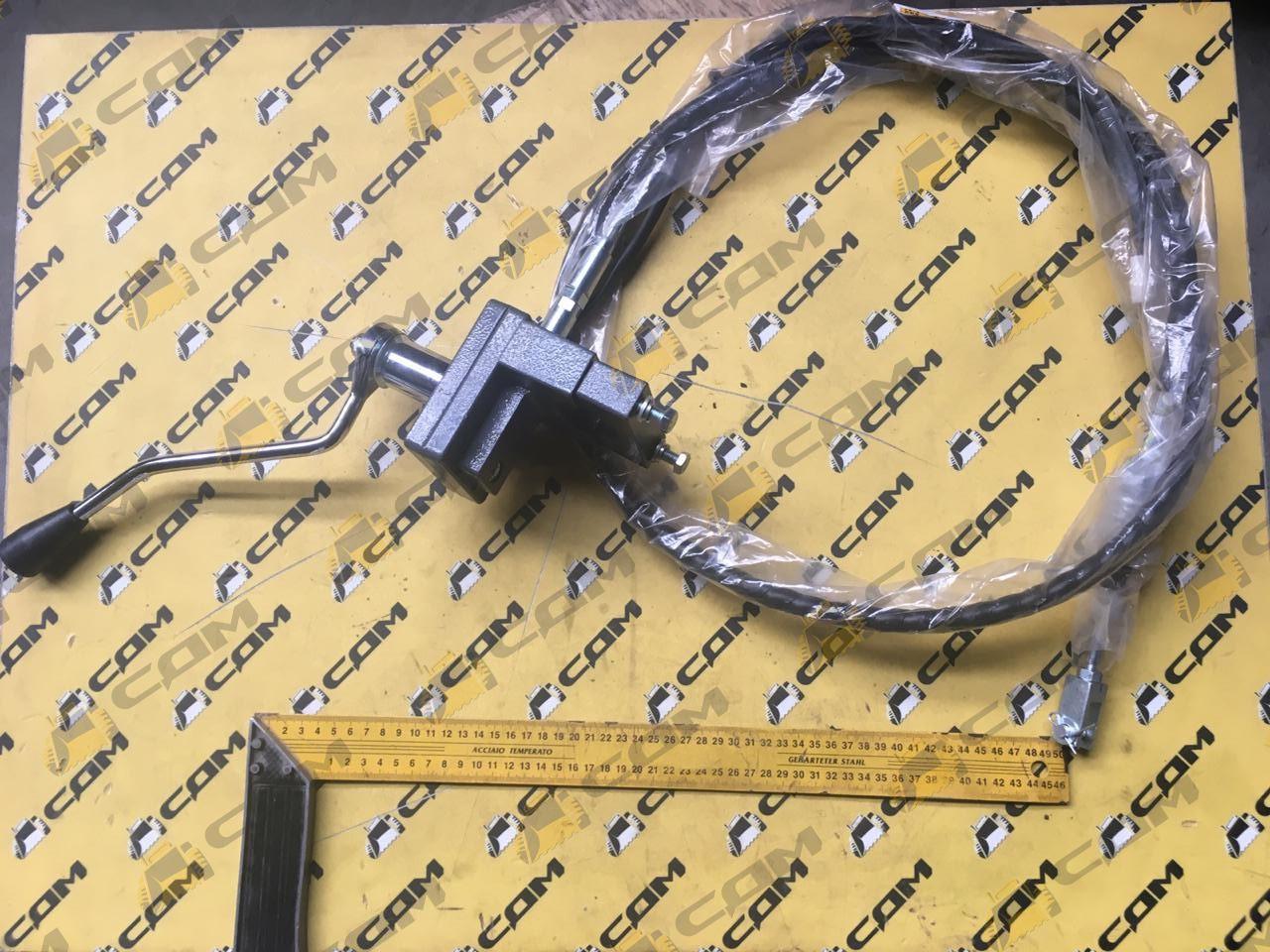 Трос ГМП L=2100 втулка 80 мм LG855B LG855DS.15.60.12